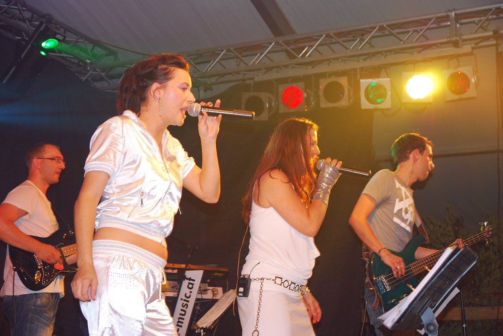 Coverband Flash beim Zeltfest Mitterkirchen