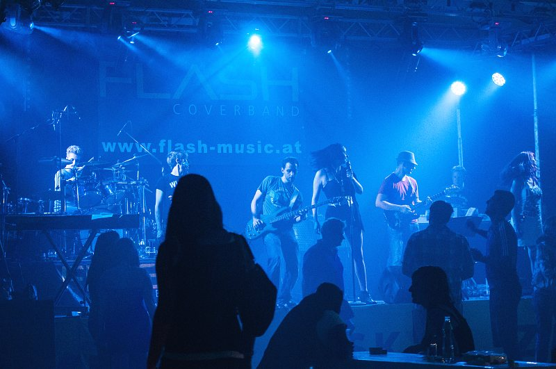Coverband Flash beim Zeltfest Mitterkirchen 2012