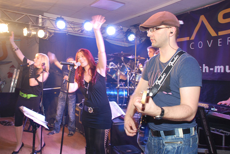 Partyband Flash bei der Apres Ski Party in Stephanshart