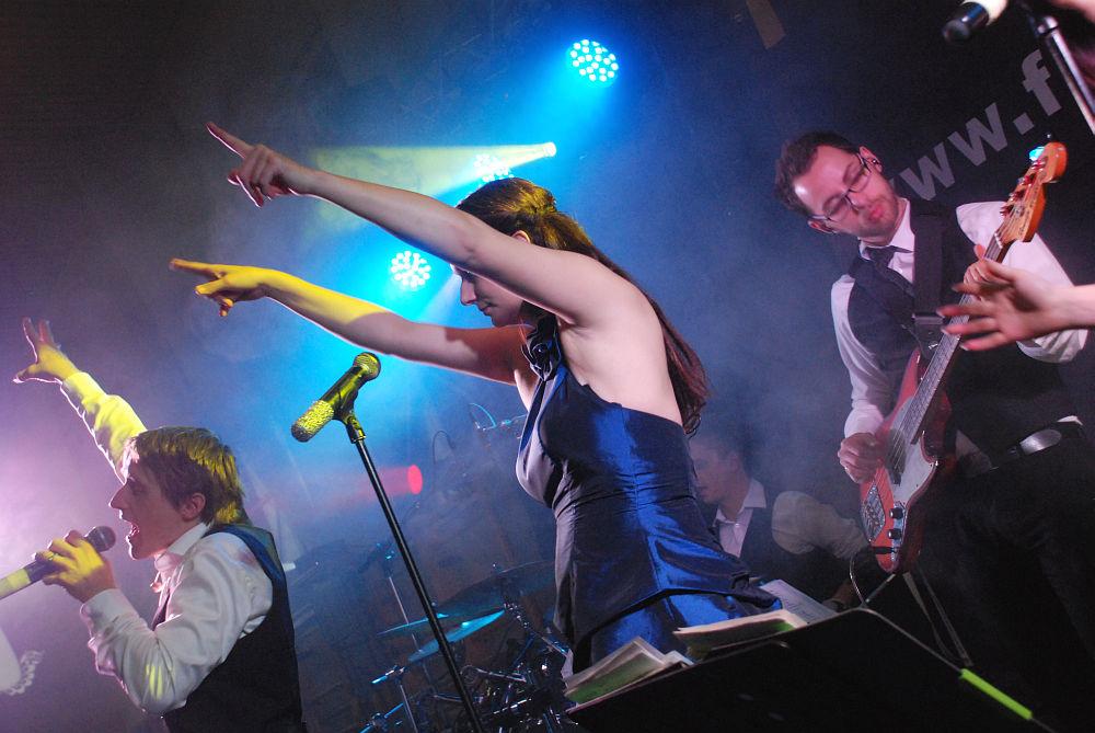 Tanzband Flash beim Trachtenball Schleißheim