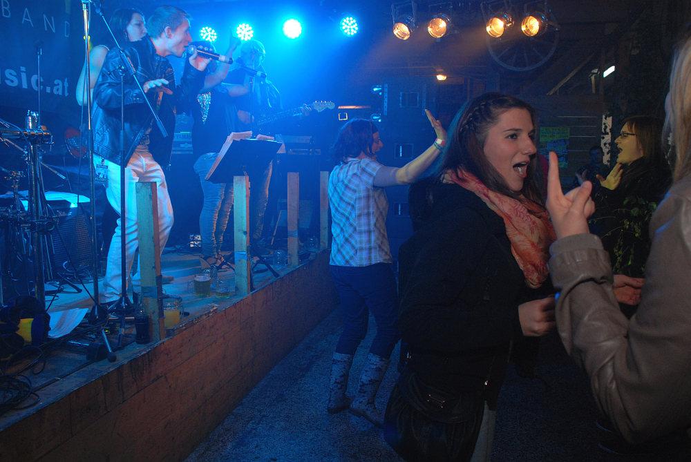 Flash live beim Mühlstadlfest in Steinbach