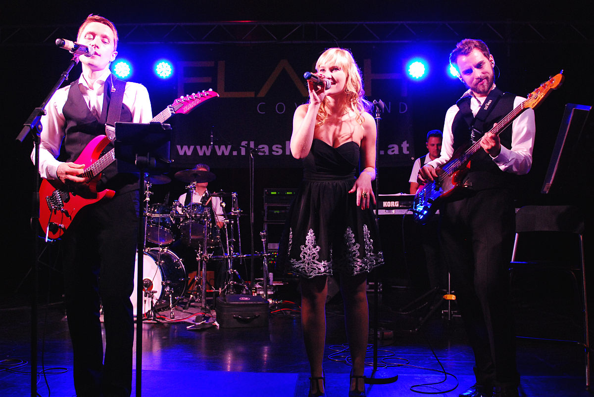Tanzband Flash live am Maturaball des BG/BRG Zell am See 2015