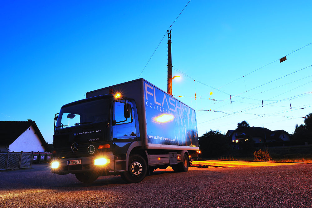 Flash Truck Mercdes Atego