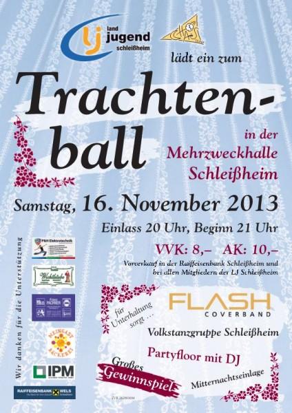 Flyer Trachtenball Schleißheim
