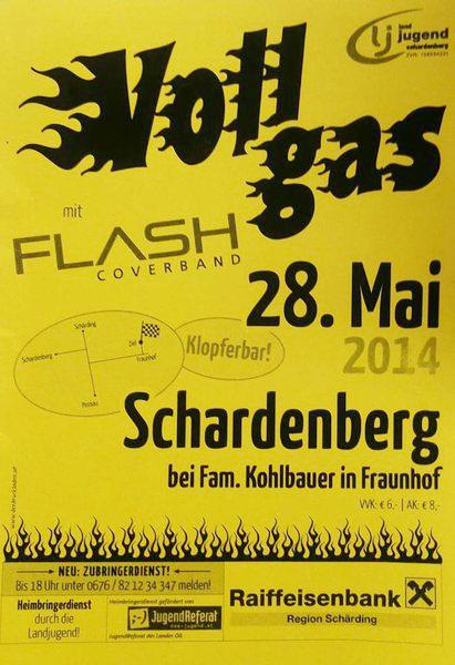 Flyer Vollgas Schardenberg