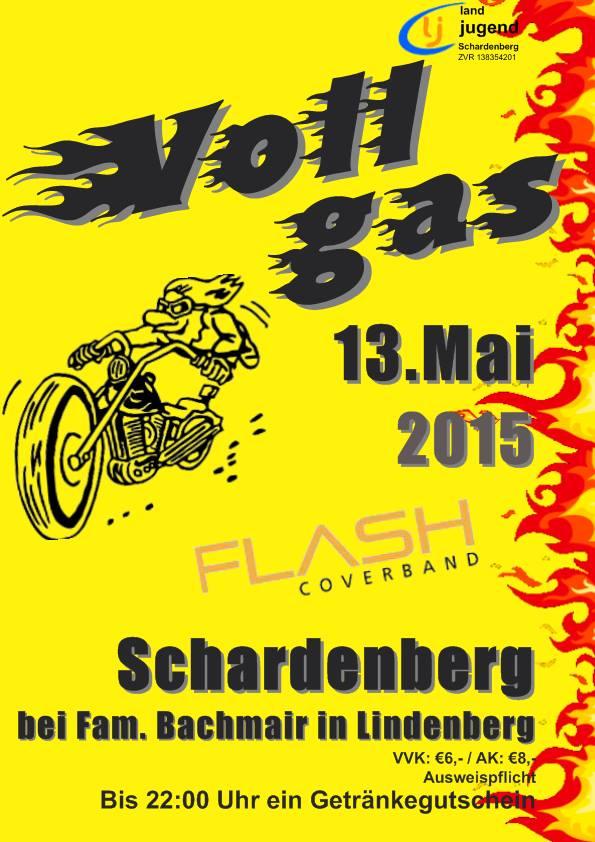Nächsten Mittwoch geben wir Vollgas in Schardenberg
