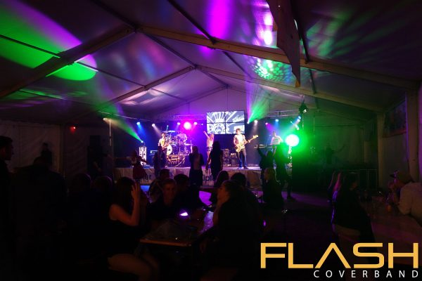 Coverband / Partyband / Tanzband Flash live am Teichfest Holzhausen 2016