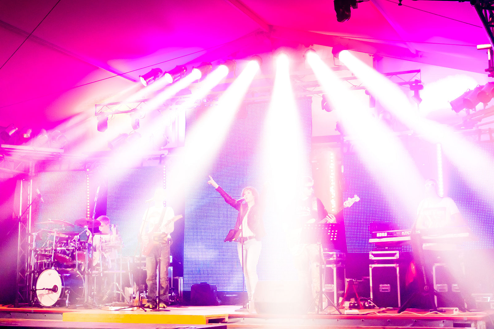 Zeltfestmusik – dieses Programm spielen wir auf Zeltfesten