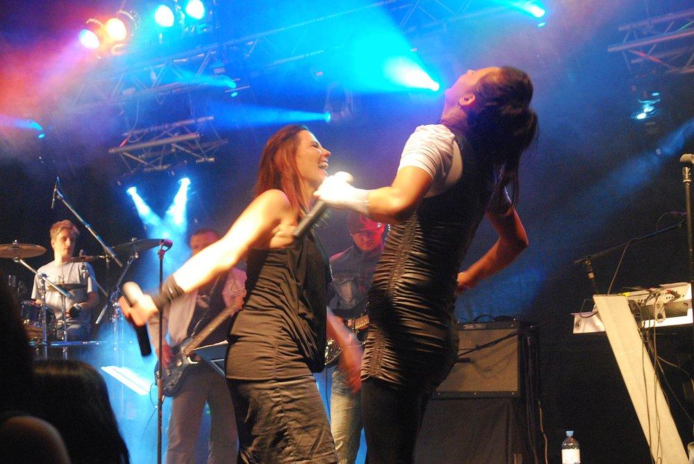 Partyband Flash live in Selker (bei Kefermarkt)