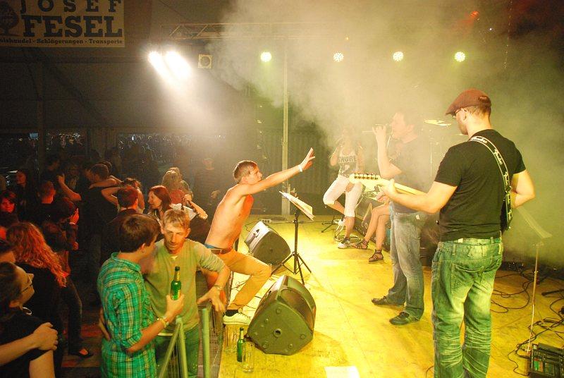 Flash auf der Donau Beach Party Pyrawang 2012