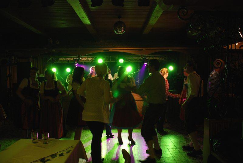 Coverband Flash beim Ball der LJ Tarsdorf 2012