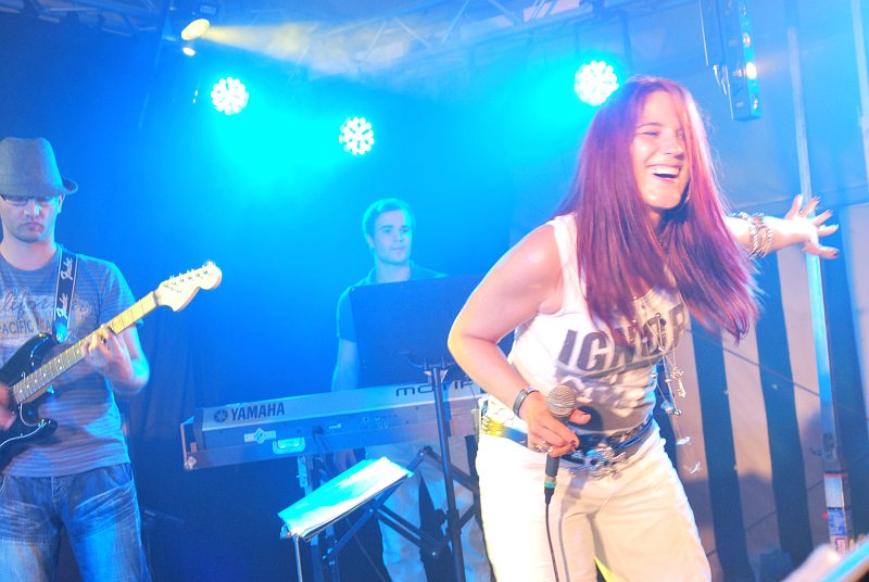 Partyband Flash beim Zeltfest in St. Roman