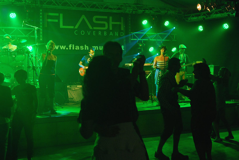 Coverband Flash beim Zeltfest der FF St. Johann in Engstetten