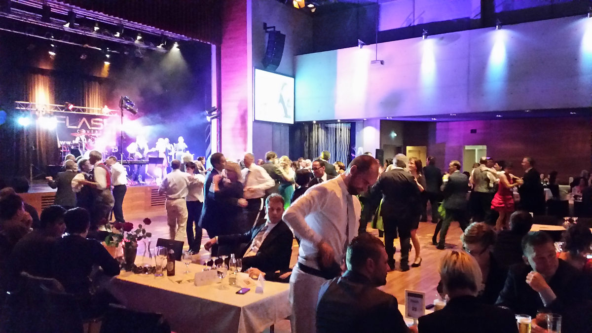 Tolle Stimmung beim Maturaball des BG/BRG Zell am See im Ferry Porsche Congress Center