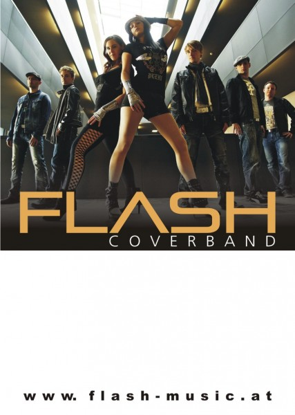 Coverband Flash Plakat 2011