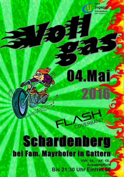 Am Mittwoch geben wir wieder Vollgas in Schardenberg