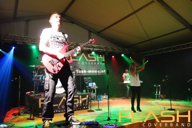 Flash live am Zeltfest Unterweißenbach