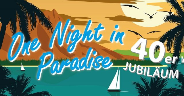Am Samstag: Flash live bei One Night in Paradise in Waldneukirchen